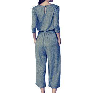 Reborn J Pants - Wide leg Crop length Jumpsuit
